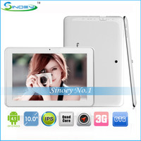 Wholesale New Sanei N10 Quad Core G Tablet PC Android with GPS Bluetooth Dual camera inch IPS HD Screen