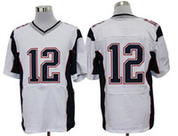 Wholesale 2013 Latest football jerseys good quality Elite jerseys New England Patriot Tom Brady white cheap sport jersey online sale drop shipping