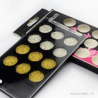 achat en gros de or, argent, décoration des ongles-New supernova Vente 3d Décorations Nail Art Or et Argent Caviar Perles Décoration Pour Nail Tips D010