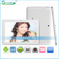 Wholesale 10 quot Sanei N10 Quad Core G GPS Bluetooth IPS Android Tablet PC Qualcomm G GB GHz