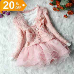 Hot fashion girl's tutu skirt dress kids party dress cute Baby girl clothes set Coat Jacket+Dress Outfit lace girls dresses skirts christmas