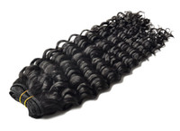 Wholesale WIGISS hair products deep wave brazilian virgin hair extensions mixed length each size quot quot Grade A unprocessed hair
