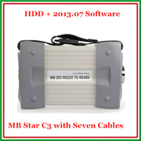Wholesale Newest Version Mb Star C3 Pro With Seven Cable Fit All Computers Hot Sale Diagnostic Scanner