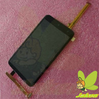 For HTC LCD Screen Panels Black One X G23 S720e LCD Full Display Assembly With Touch Screen Digitizer Hot Sale Original New For HTC 8PCS Lot Free By DHL EMS UPS Fedex