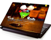 Wholesale Customized Design LAPTOP SKIN LAPTOP STICKER notebook cover different picture DHL
