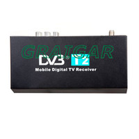 Wholesale FREE SHIPPIN HOT SALE km h speed maximum high Speed H MPEG4 Mobile Digital Car DVB T2 TV Receiver HDMI P CVBS car dvb t2