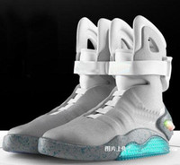 Wholesale New arrival air mag limited edition back to future fashion basketball shoes for men size us