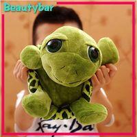 Reptiles Green Plush Freeshipping Stuffed Plush Animals Big Eyes NICI plush toys Turtle plush toy doll pillow 5pcs lot