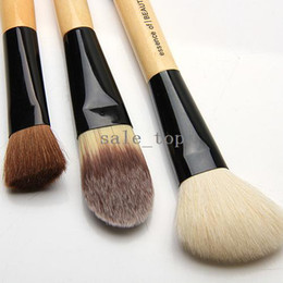 Wholesale 3 Dual End Double headed Duo Make Up Brushes Eye Shadow Brush