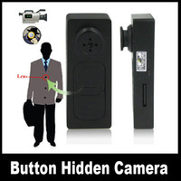 Wholesale Spy Button Camera Spy Camera Hidden Camera Video Voice Recorder DV Cam sc81
