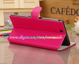 Wholesale Luxury Book Litchi skin Wallet PU Leather cover Credit card slots case cases stand Holder pouch for Sony Xperia Z Ultra XL39H