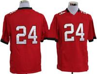 Women Short Nylon Youth Red #24 Darrelle Revis New Jerseys 2013 New Season American Football Game Jerseys High Quality Comfortable Cheap Jerseys