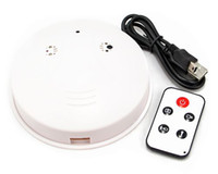 Cheap Remote control Smoke Detector spy camera DVR hidden pinhole camera mini DVR Motion Detection 720*480 30fps 2.0MP camera 2pcs l0t