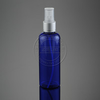 Wholesale 20pcs ml r20 blue round foil spray bottle tangential belt advanced anodized nozzle