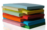 a4 paper - 200 x Hotsale Double side copy color A4 paper for laser Fex Offset Writing colorful paper a4