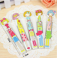 Wholesale Learning stationery cartoon stationery office school writing supplies ballpoint little girl cartoon rotating ball point pen