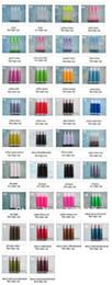 Wholesale 100pcs many Colors ml empty Lipstick tube Lip balm tube Lipstick container Lipstick bottle Lip gloss tube