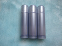 Wholesale No24 ml silver grey empty Lipstick bottle Lip gloss container Lip balm tube Lipstick Lipgloss Lipbalm package