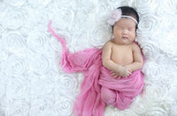 Wholesale MODEL DJ satin cloth photography background photographic backdrops newborn props