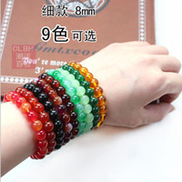 Wholesale 50pcs HOT Beaded Charm Bracelet Glass Beads Bangle Fashion Wristband Girls Women Punk Jewelry