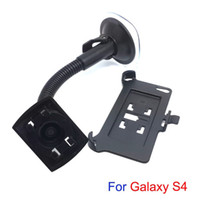 Wholesale In Car Swivel Mount Holder Dock Bracket Set for Samsung Galaxy S4 with Foot Rest