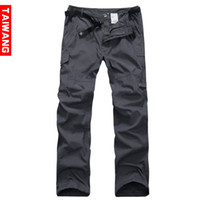 Men cargo pants for men - GTW Brand Fashion Mens Sports Pants Baggy Cargo Pants Casual Multi Pockets Trousers Outdoor Joggers Pants For Men Hiking Camping