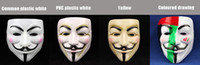 Wholesale Face MasK V Mask for Vendetta Party Masquerade Masks colors Super Scary The Best Cosplay Tools V Mask for Vendetta Party