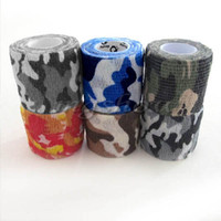 Wholesale 5cm x m Kombat Army Camo Wrap Rifle Shooting Hunting Camouflage Stealth Tape