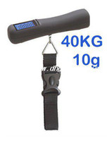 Wholesale Lb kg oz g Digital Portable Travel Hanging Suitcase Baggage Luggage scale
