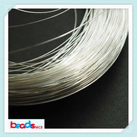beading wire jewelry - Beadsnice gauge sterling silver round half hard wire silver wire wrapping wire beading jewelry ID