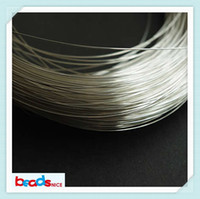 silver wire - Beadsnice gauge silver round wire sterling wire bulk for jewelry making wrapping wire half hard wire ID