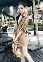 Wholesale 2014 AAAAA quality designer coats trench coat women outwear Women s trench coat Short coat dust coat