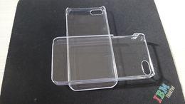 Cas transparents pour iphone 4s en Ligne-DHL FREE Hard Plastique Transparent transparent housse de protection transparente pour iphone 4 4G 4S iphone 5