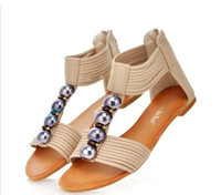 Wholesale Wholesales women s summer roma flat sandals fashion shoes LC