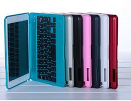 Livraison gratuite récent cas de clavier en aluminium Ultra Slim Keyboard aluminium Bluetooth avec le cas de couverture pour l'ipad Mini