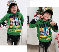 Wholesale Children Hoodie Sweatshirts Kids Clothes Fashion Casual Tops Hoody Hoodie Boy And Girl Long Sleeve Tops Child Clothing Wear Kids Sweatshirts