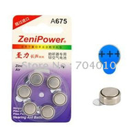hearing aid batteries - A675 V mAh Hearing Aid Battery Pack