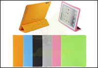 Smart Cover/Screen Cover 9.7'' For Apple PU Full Leather Smart Cover High Quality Hot Sale New Design For Ipad Ipad 2 Ipad 3 New Ipad,5PCS Lot,Free Shipping By HK Air Post