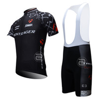 Wholesale BONTRAGER Trek cycling kits team cycling jersey suit with bib short gel padded summer biking clothes