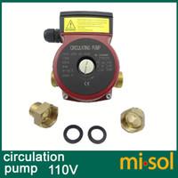 solar water pump system - 110v Brass circulation pump speed for solar water heater or for hot water heating system