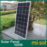 solar module - 100w solar panel for V system monocrystalline photovoltaic panel solar module