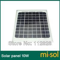 10w solar panel - 10 Watt Solar Panel Module charge V Battery monocrystalline panel w