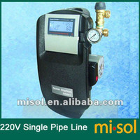 hot water heater - Work Station of Solar Hot Water Heater w Pump V for solar water heating
