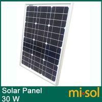 solar module - 30w solar panel for V system monocrystalline photovoltaic panel solar module