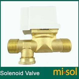 Wholesale 10pcs Electric Solenoid Valve for Water VDC quot electric magnetic valve