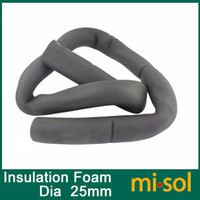 foam insulation - 2 meters Insulation foaming pipe for hot water inner diameter mm thickness mm