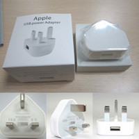 For Apple iPhone uk - Full V A White UK Plug Charger High Quality MA USB Wall Charger for Iphone s iphone5 note NOTE III n9000