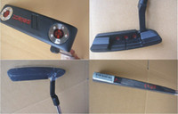 Wholesale Golf Clubs Left Handed Black Golf Putter With Steel Shaft And Cover