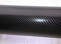Wholesale 4D black Carbon Fiber Vinyl Carbon fibre d vinyl Wrap For car wrapping Auto stickers Size Drop shipping