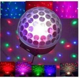 NEW Arrival LED Crystal Ball Magic LED Effect Light DMX DJ Stage Lighting 1pcs free shipping